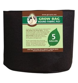 Gro Pro Premium Round Fabric Pot 600 Gallon