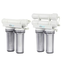 Ideal H2O Classic 3 Stage RO System w/ Coconut Carbon Pre Filter - 100 GPD Seconds