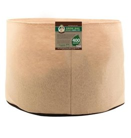 Gro Pro Premium 400 Gallon Round Fabric Pot-Tan (6/Cs)