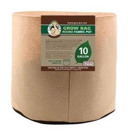 Gro Pro Premium 10 Gallon Round Fabric Pot-Tan (70/Cs)