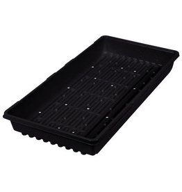 Super Sprouter Triple Thick Tray Black 10 x 20 w/ Holes (50/Cs)