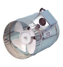 Hurricane Hurricane Inline Duct Booster 6 in 160 CFM