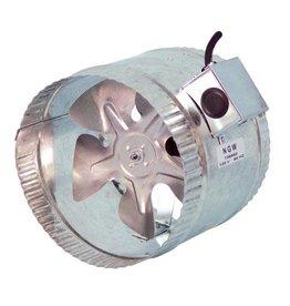 Hurricane Hurricane Inline Duct Booster 8 in 370 CFM