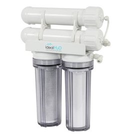 Ideal H2O Classic 3 Stage RO System w/ Coconut Carbon Pre Filter - 200 GPD
