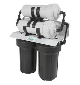 Ideal H2O Commercial 3 Stage RO System w/ Catalytic Carbon Pre Filter - 1,200 GPD
