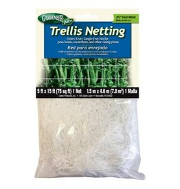 Gardeneer Trellis Netting 5 ft x 15 ft w/ 3.5 in Holes (12/Cs)