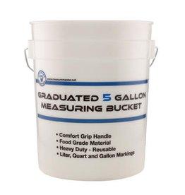 Measure Master Graduated Measuring Bucket 5 Gallon