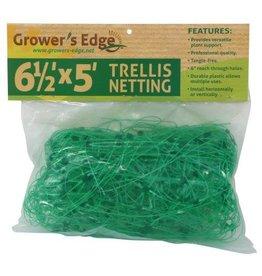Growers Edge Grower's Edge Green Trellis Netting 6.5 ft x 5 ft (30/Cs)