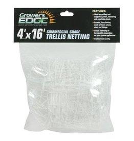 Growers Edge Grower's Edge Commercial Grade Trellis Netting 4 ft x 16 ft (20/Cs)