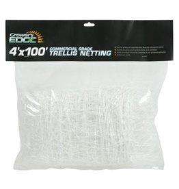 Growers Edge Grower's Edge Commercial Grade Trellis Netting 4 ft x 100 ft (10/Cs)