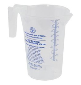 Measure Master Graduated Round Container 32 oz / 1000 ml (20/Cs)