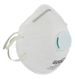 Growers Edge Grower's Edge Clean Room Conical Particulate Respirator Mask w/Valve (10/Cs)