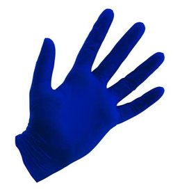Growers Edge Grower's Edge Blue Powder Free Nitrile Gloves 4 mil - Medium (100/Box)
