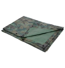 Growers Edge Grower's Edge Heavy Duty Camo / Green Tarp 12 ft x 20 ft