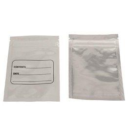 Harvest Keeper White / Clear Zip Close Bag 3 in x 4.5 in (100/Pack)