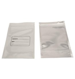 Harvest Keeper White / Clear Zip Close Bag 4 in x 6.7 in x 1.2 in (100/Pack)