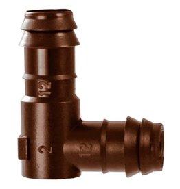 Hydro Flow Hydro Flow / Netafim 12 mm Insert Elbow (250/Box)