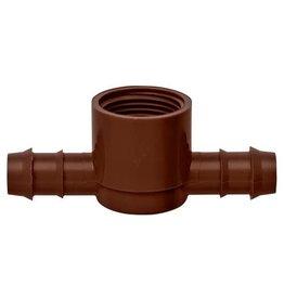 Hydro Flow Hydro Flow / Netafim 12 mm Combination Tee - Ins x Ins x 3/4 in FPT (100/Box)