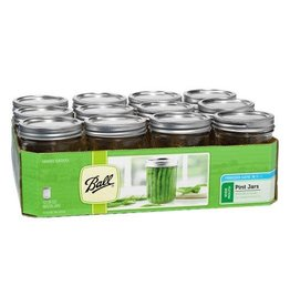 Ball Jar Ball Jars Wide Mouth Pint (12/Cs)
