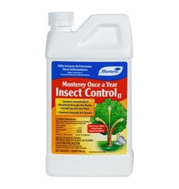 Monterey Lawn & Garden Products Monterey Once A Year Insect Control II Quart (12/Cs)