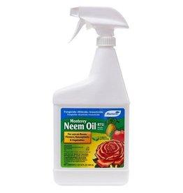 Monterey Lawn & Garden Products Monterey Neem Oil RTU Quart (12/Cs)