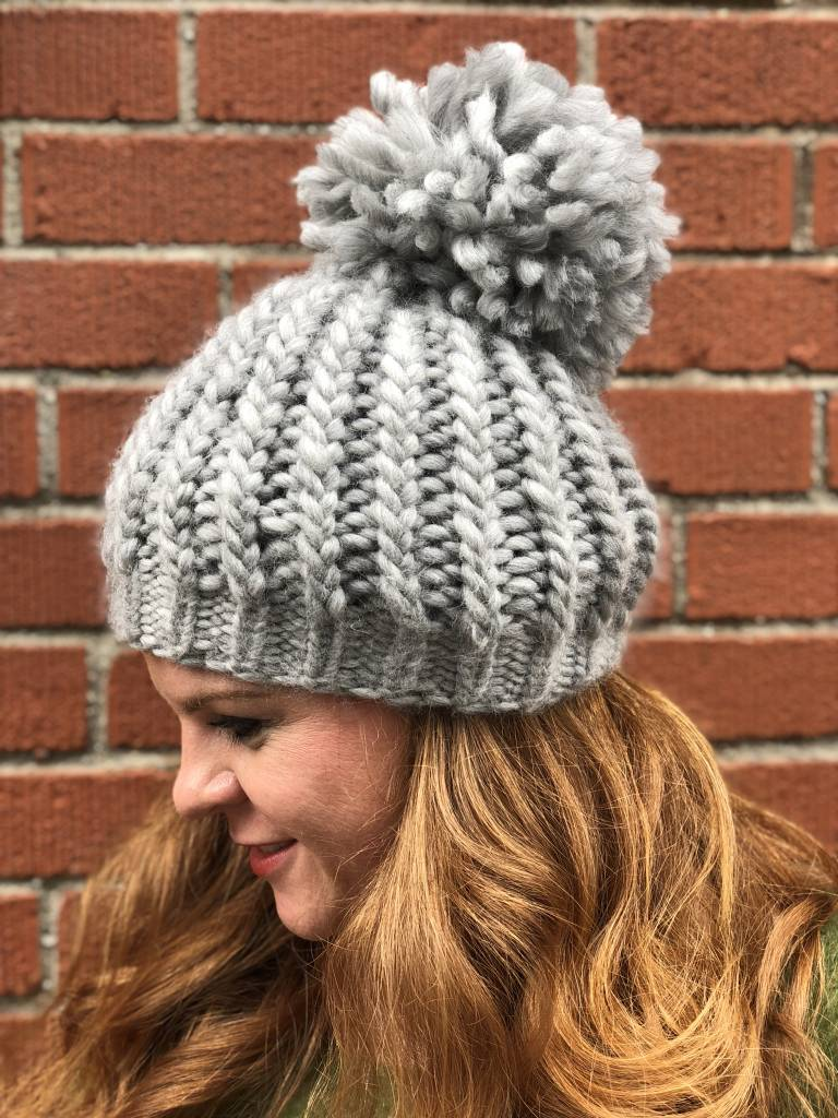 Woolly&Co. Twisted Sister Hat Kit