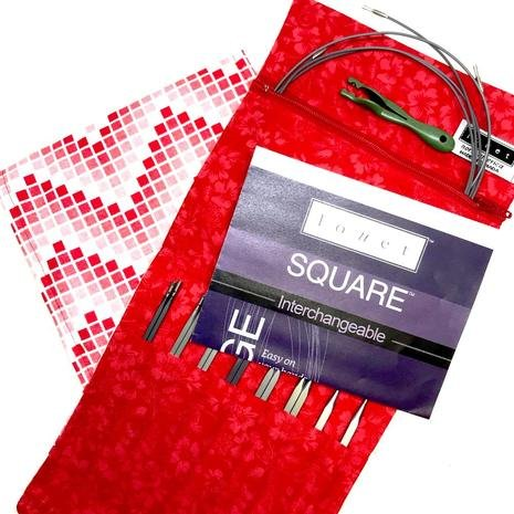 Louet Mini Interchangable Square Needle Set