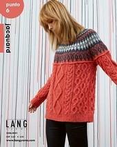 Lang Lang Punto 6 Pattern Booklet Jacquard