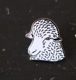 Fringe Supply Co. Sheep Enamel Pins From Fringe Supply Co.