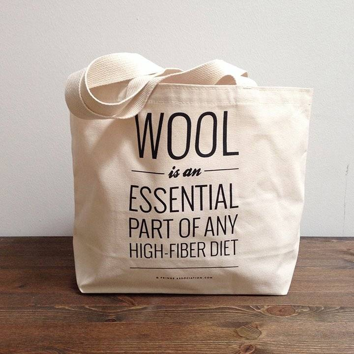 WOOL is an Essential Part of Any High-Fiber Diet From Fringe Supply Co