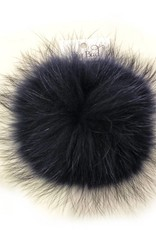 Big Bad Wool Big Bad Wool XL Periwinkle Navy Pom Pom