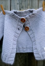 Big Bad Wool Wee Cardi Pattern By Big Bad Wool
