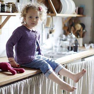 Big Bad Wool Big Bad Wool Bunty Cardigan Pattern