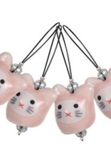 Knitters Pride Zooni Stitch Markers Meow