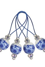 Knitters Pride Zooni Stitch Markers Blooming Blue