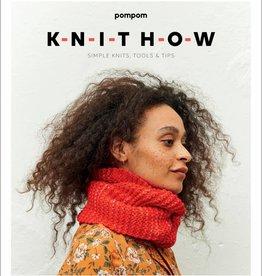 Pom Pom Quarterly Knit  How - A Beginner's Knitting Pattern Book