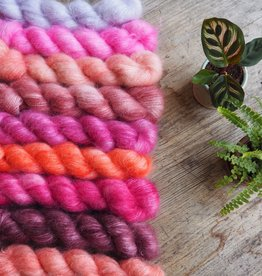 Botanical Yarn Sweet Pea  Suri Alpaca/Mulberry Silk by Botanical Yarn