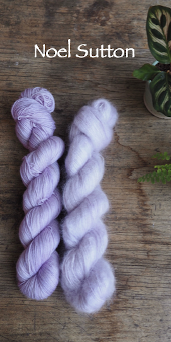 Botanical Yarn Sweet Pea  Merino/Silk by Botanical Yarn
