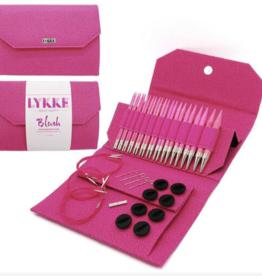 Lykke W&Co. Lykke Driftwood Long Needles Set/Pink