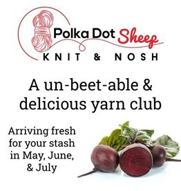 Polka Dot Sheep Polka Dot Sheep Knit & Nosh Yarn Club