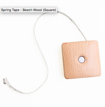 Knitters Pride Spring Tape Beech Wood Square