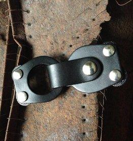 Jul Designs Jul Mod Loop Leather Closure Black