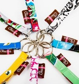 Chic-a Chic-a Key Ring - Pink