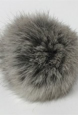 Big Bad Wool Big Bad Wool Natural Grey Small Pom Pom