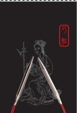 "ChiaoGoo ChiaoGoo 9"" US 5 SS Red Circular Needle"