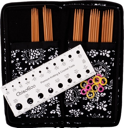 "ChiaoGoo ChiaoGoo 6"" Bamboo DPN Sock Set"