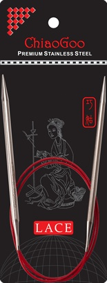 """ChiaoGoo W&Co. ChiaoGoo Lace Circular 24"""" US 10 Needle"""