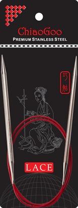 """ChiaoGoo W&Co. ChiaoGoo Lace Circular 24"""" US 8 Needle"""