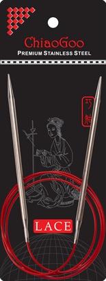 """ChiaoGoo W&Co. ChiaoGoo Lace Circular 40"""" US 9 Needle"""