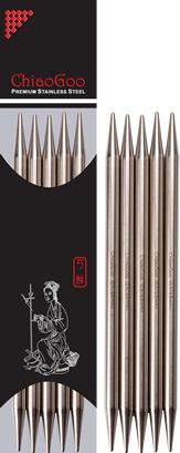 """ChiaoGoo ChiaoGoo S-Steel DPN 6"""" US 2.5"""